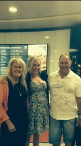 At the airport, about to head off to Bali